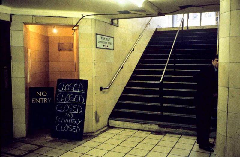Underground de Bob Mazzer ca. 1960.