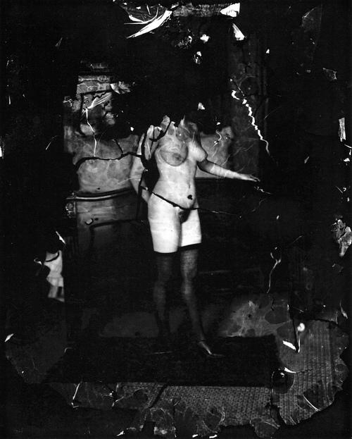 De construcciones. Fotografía de Bellocq (ca. 1909)