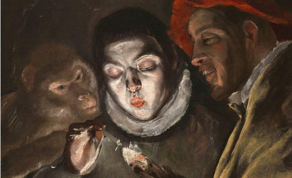Una fábula. El Greco (1580)
