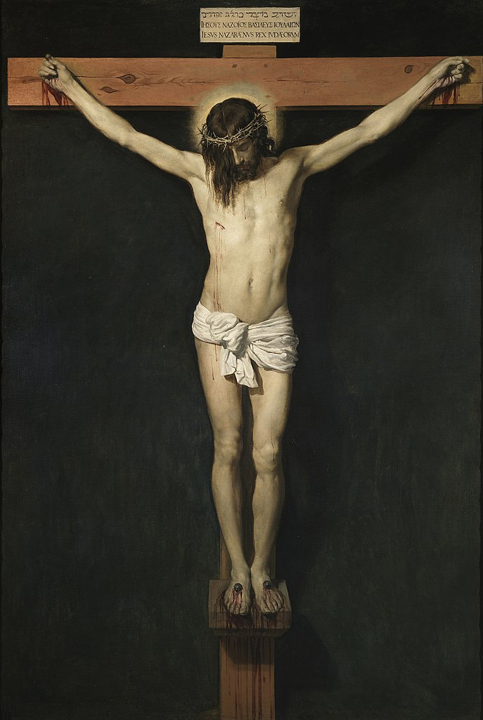 Cristo crucificado de Diego Velázquez ca. 1632