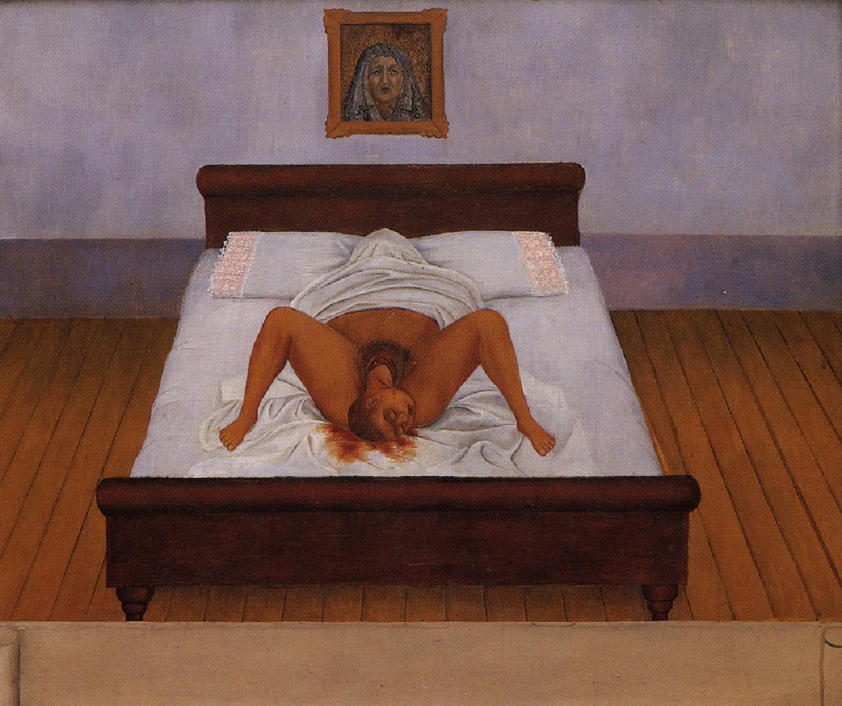 Mi nacimiento de Frida Kahlo. 1932