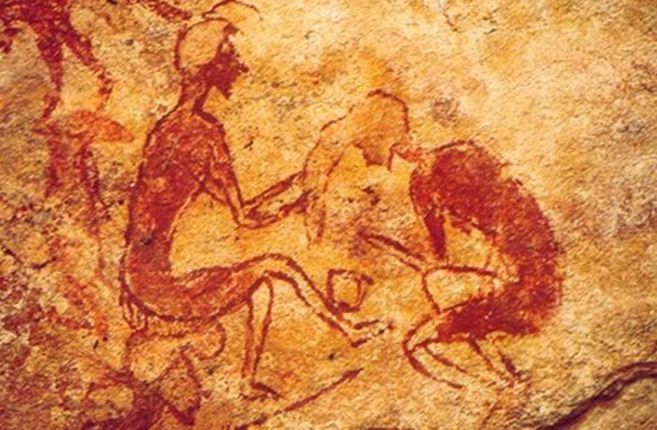 El peluquero Tassili-N-Ajjer. ca. 4000 a.e.c.
