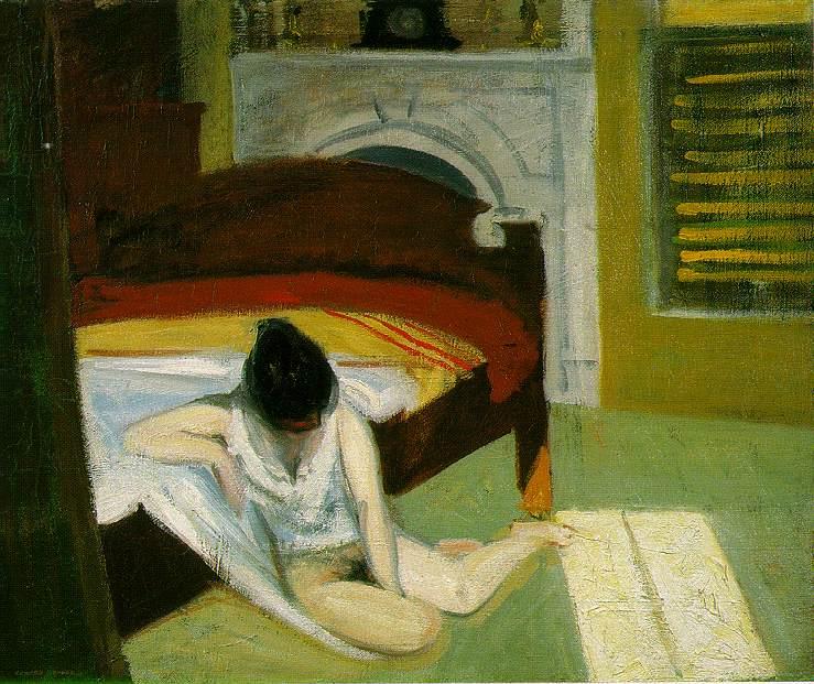 Summer interior Edward Hopper