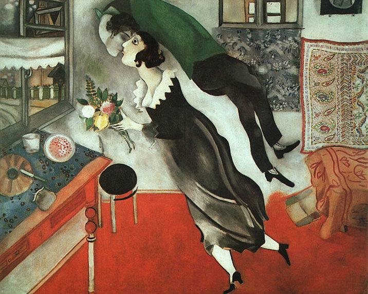 Marc Chagall El Cumpleaños 1915
