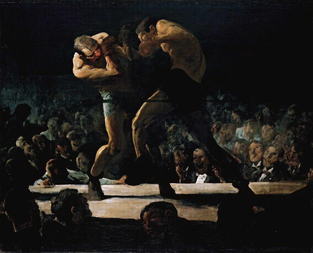 Club night de Georges Bellowz 1907
