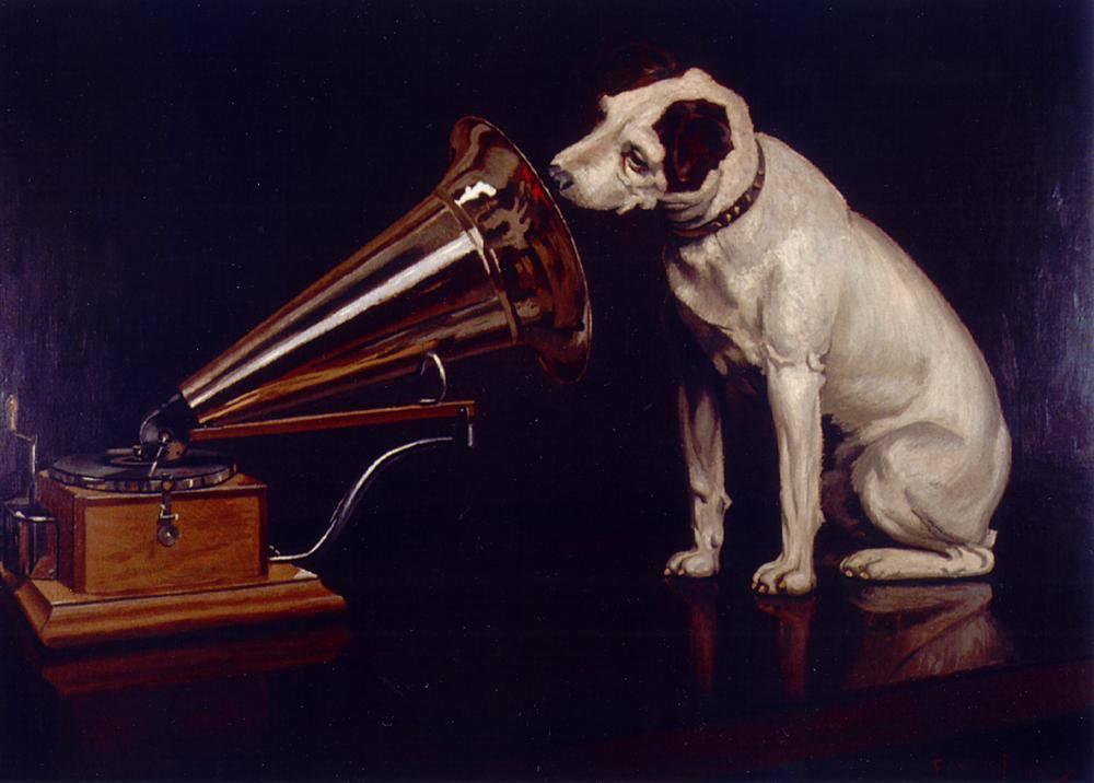 His master's voice Francis James Barraud 1899